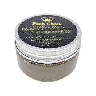 Posh Chalk Smooth Metallic Paste - Brown Van Dyke -