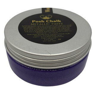 Posh Chalk Smooth Metallic Paste - Violet -