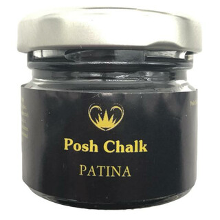 Posh Chalk Gilding Wax - Dark Brown -