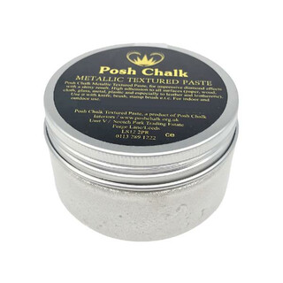 Posh Chalk Textured Paste - Pearl White -