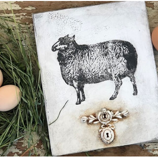 IOD - Decor Stempel Farm Animals